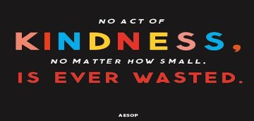 Acts of kindness and Positive Psychology